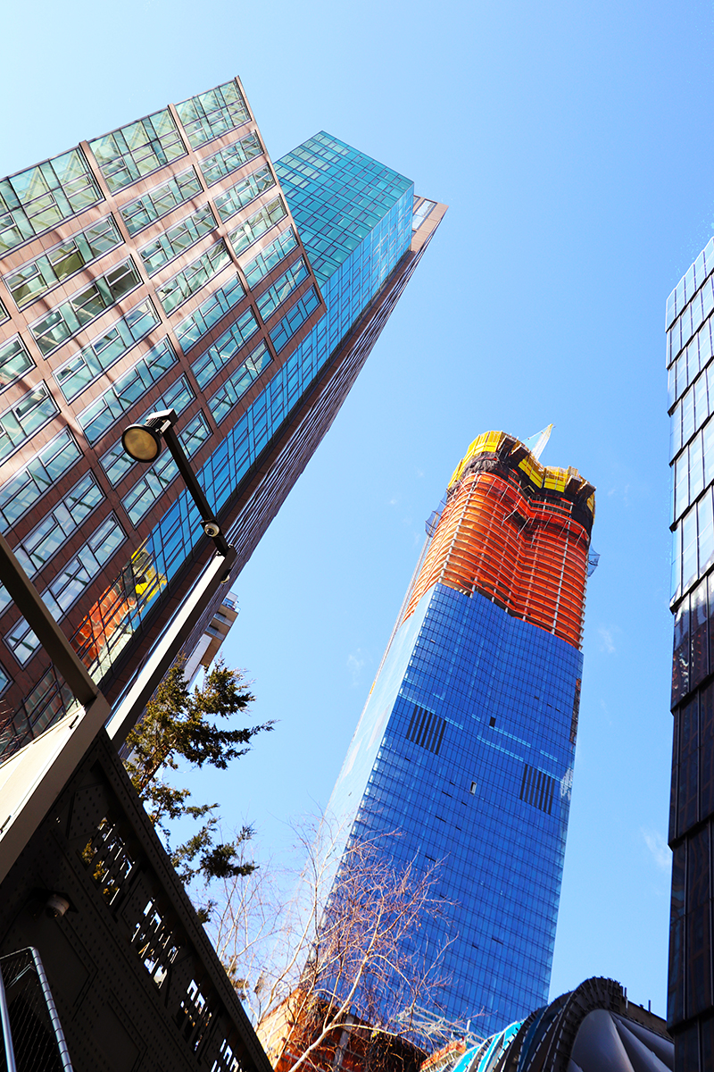 15 Hudson Yards Topped Out