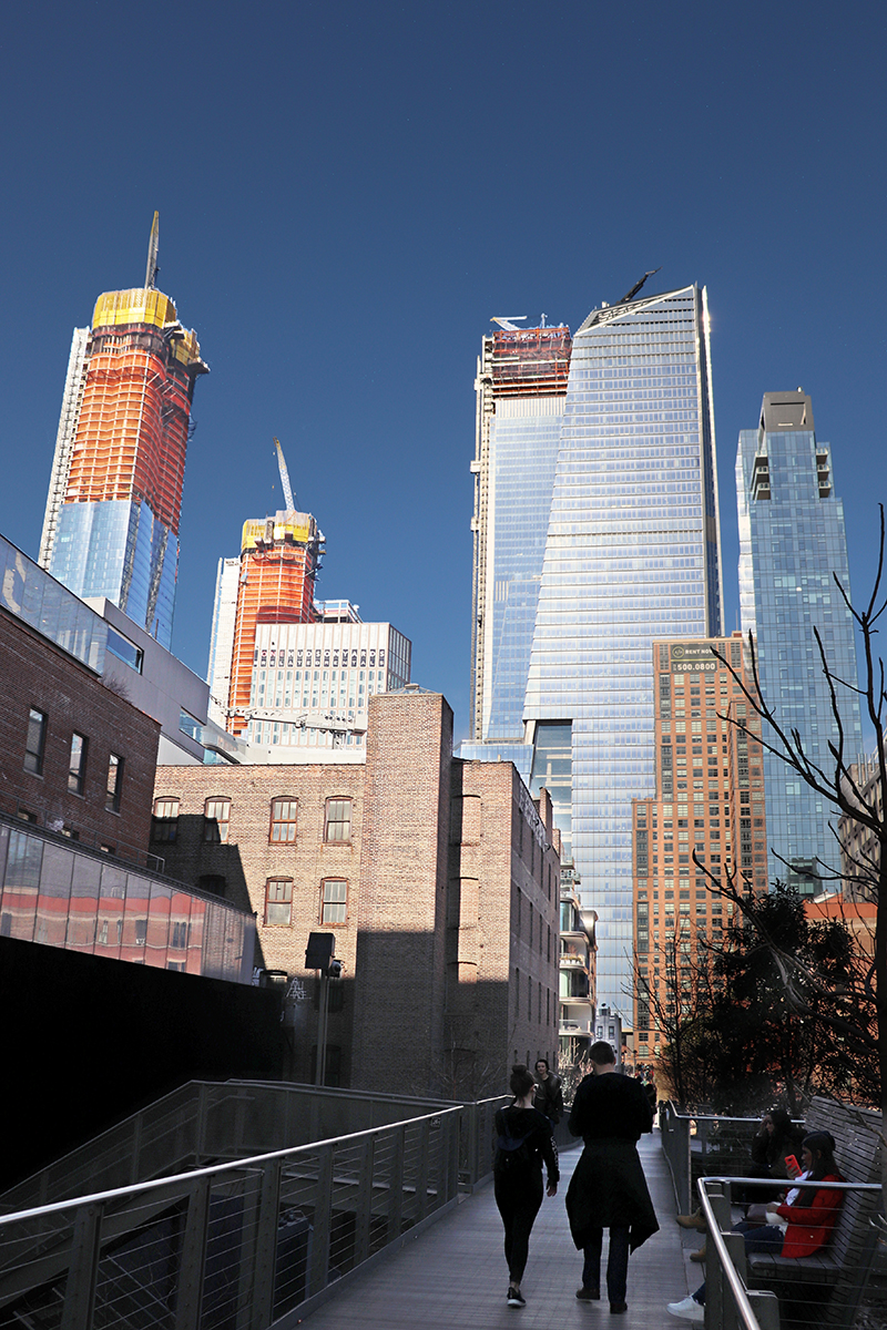Hudson Yards Seen From Highline