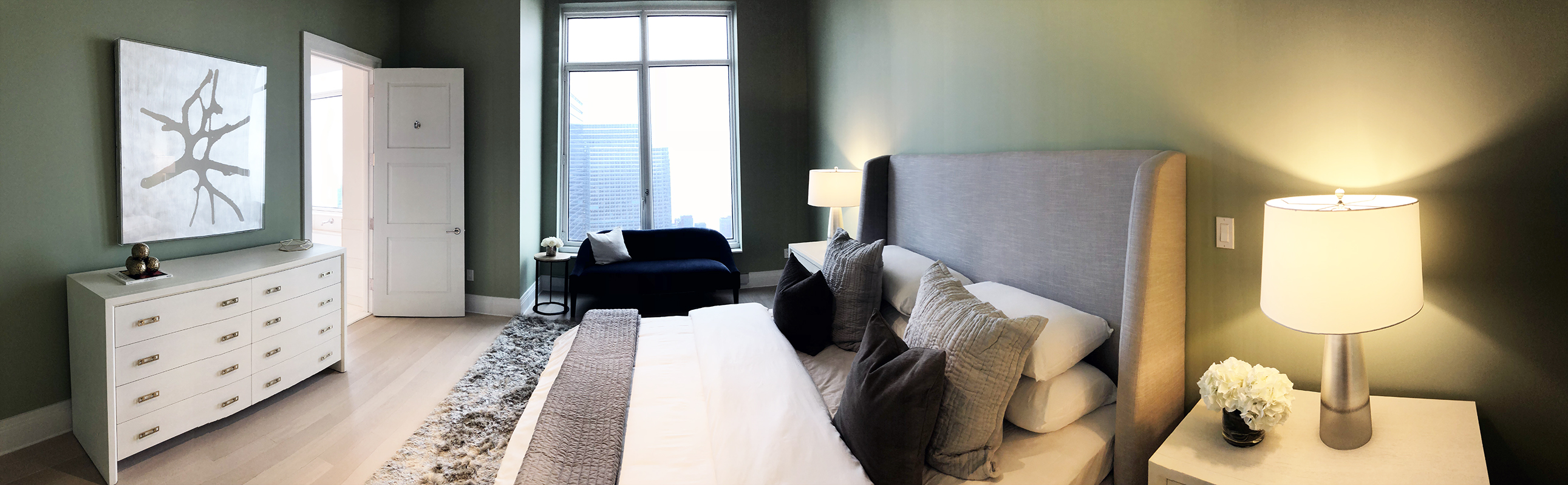 30 Park Place Master Bedroom