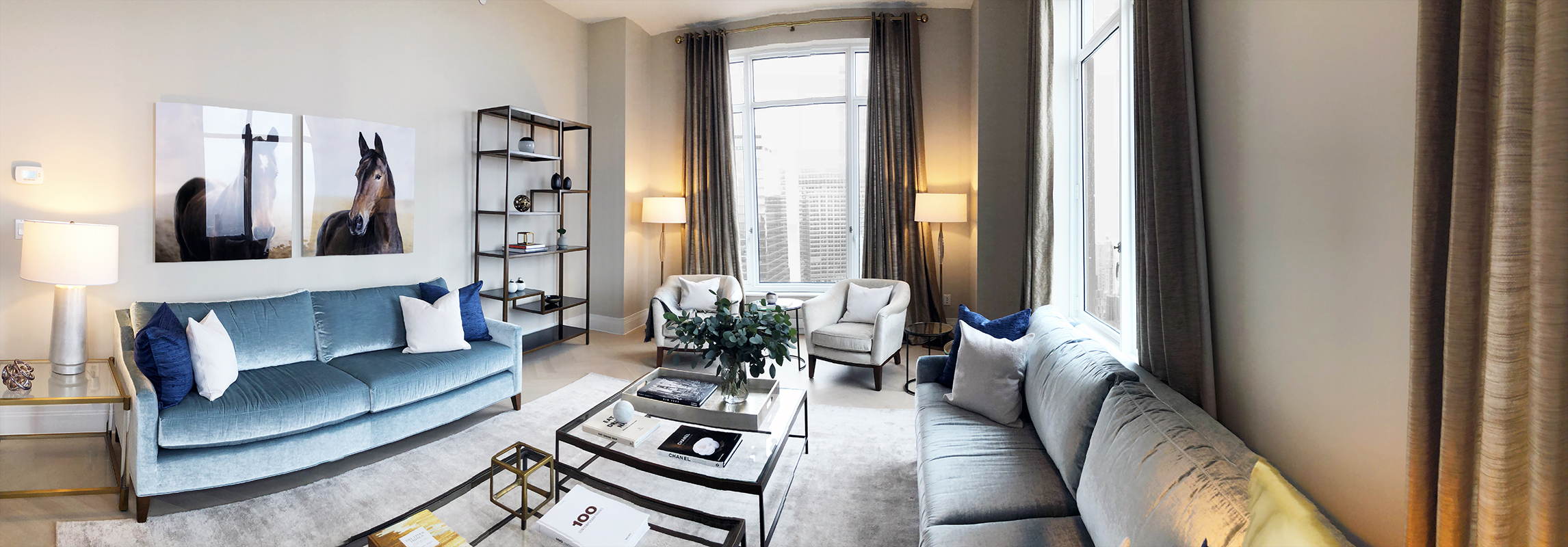 30 Park Place Living Room