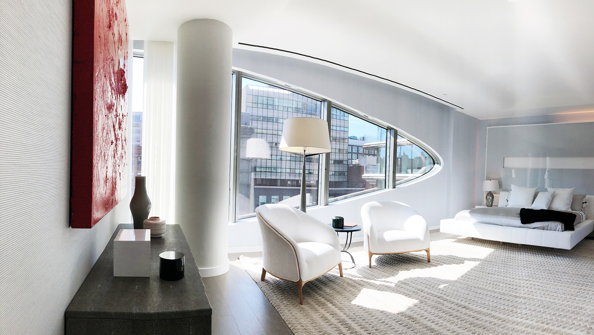 Zaha Hadid Interior at 520 West 28th Street